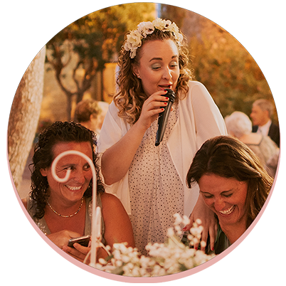 Animación y cantante para bodas