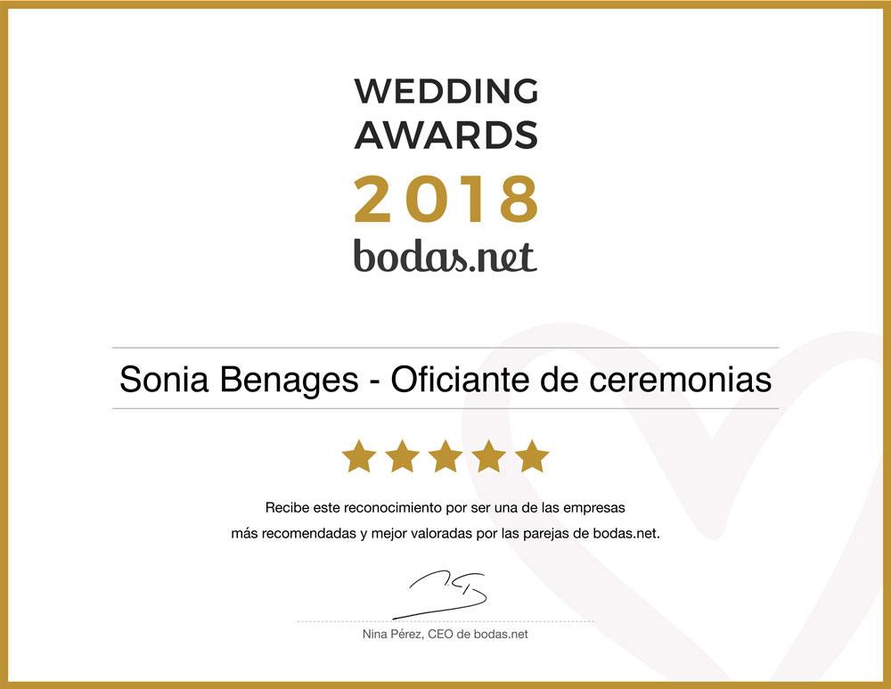 Premios Bodas